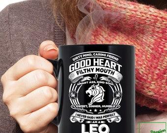 Leo Mug, Leo Zodiac Mug, Leo Astrology Mug, Leo Astrology Birthday Gift, Leo Zodiac Sign, Leo Horoscope Astrology Mug, TP5009M
