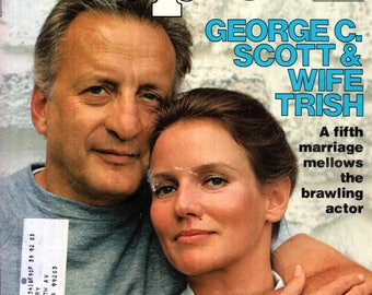 George C. Scott People Magazine February 7, 1977 Issue