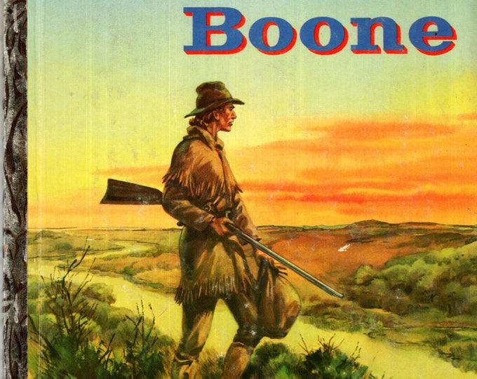 DANIEL BOONE Little Golden Book #256 Hardcover 1956