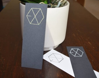 Exo Black and White Bookmarks
