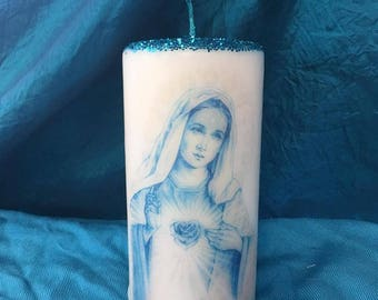 Mother Mary Spirit Candle