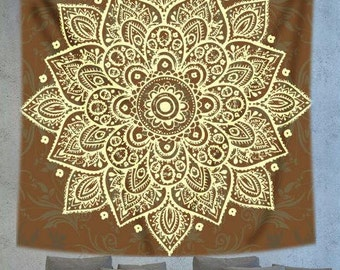 Mandala tapestry, Ethnic Mandala wall tapestry, Bohemiam tapestry, Psychedelic tapestry, Hippie tapestry, wall decor, boho wall decor