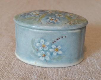 Forget-Me-Not Trinket Box