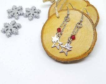 "Earrings ""FILANTES stars"""