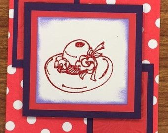 Red Hat Lady All Occasion Card