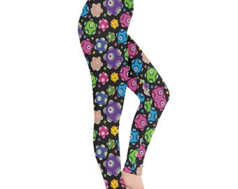 Rolling Leggings - Katamari Leggings Katamari Cousins Leggings Katamari Damacy Leggings Plus Size Leggings Video Game Leggings Ichigo Dipp
