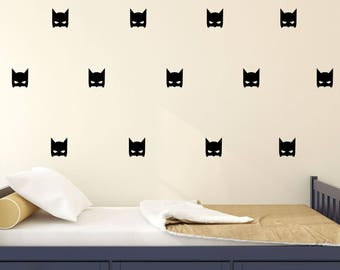 Batman Superhero Wall Sticker - Nursery Kids Wall Decal - Wall Pattern | PP127