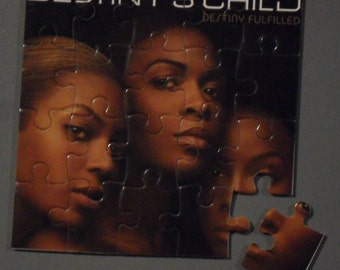 Destiny's Child Magnetic CD Cover Puzzle