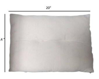 Organic, Egyptian cotton pillow, Toddler/Travel size