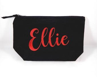 Personalised Name Small Make-Up Bag
