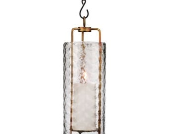 Hanging Candle Lantern, Indoor Outdoor, Rustic, Lighting, H Potter, Candle Holder, Patio, Deck, Gifts for Mom, Garden, Outdoor Metal Decor