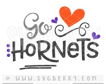Hornets SVG / Go Hornets SvG / Football SvG Cheer Svg / Live Love Football Mom Svg / Football Sister Svg / School Spirit / Cut File /Bk Bm
