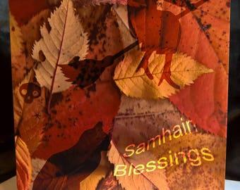 Samhain Blessings - Pagan - Greeting Card