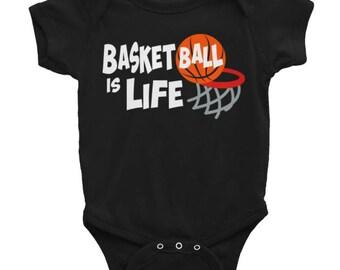Basketball is Life - Kid's Basketball Shirt - Sports Shirt - Basketball Shirt - Basketball Boy Shirt - Boy Shirt - Boy Basketball Shirt