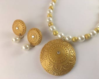 Terracotta / Polymer Clay Jewelry