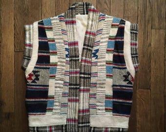 Handmade Peruvian wool vest