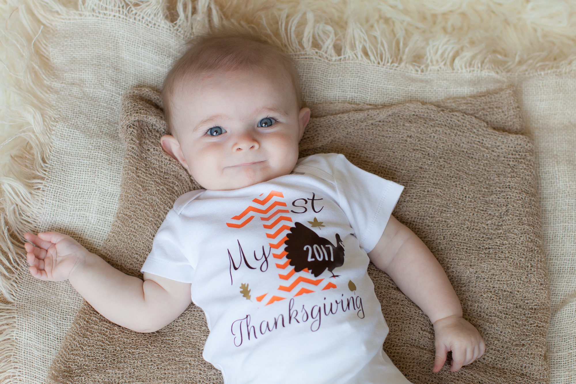Baby Boy Thanksgiving Outfits Baby First Thanksgiving Outfit