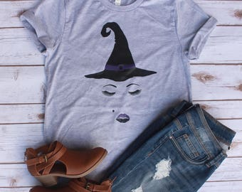 Witch Face Shirt // Hocus Pocus Shirt // Halloween Shirt // Witch Shirt