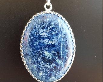 Large Lapiz Lazuli Stone Necklace