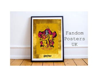 Harry Potter Gryffindor Poster Art