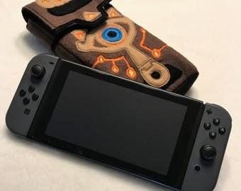 Nintendo Switch Case Nintendo Switch Sleve Case Sheikah Slate Case BOTW Switch Case Link Switch Case Zelda Switch Case
