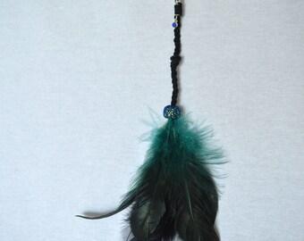 Dark blue roach clip / Alligator clip / Hair clip
