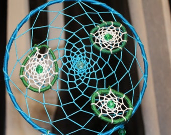 Lily Pad Dreamcatcher 6 in diameter