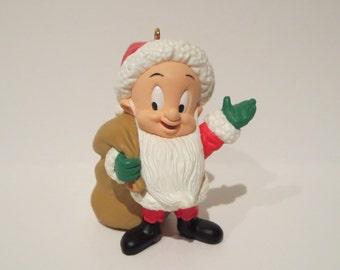 Elmer Fudd as Santa Vintage Hallmark Ornament