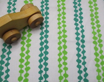 Change Pad Cover - Standard Size - Green Dots and Lines - Cotton