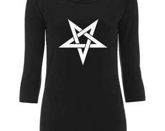 Pentagram - Women's 3/4 sleeve shirt