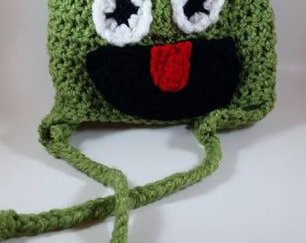 Oscar the Grouch Crochet Hat