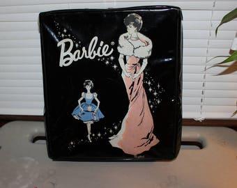 Vintage 1960s Barbie Doll Case, Vintage Mattel Barbie Storage Case