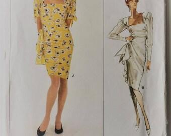 Vintage 1980s Vogue Paris Original sewing pattern 2310 - Emmanuel Ungaro Misses' dress