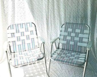 Vintage Lawn Chair Etsy
