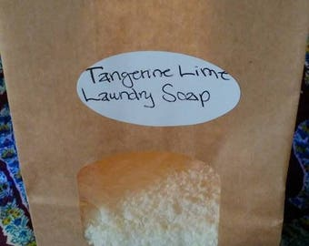 Tangerine Lime Laundry Soap