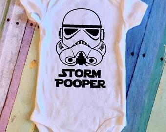 Storm Pooper Baby Onesie