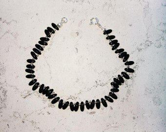 "Mixed bracelet ""Tahiti"" small black"