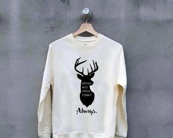 harry potter sweatshirt etsy fr. Black Bedroom Furniture Sets. Home Design Ideas