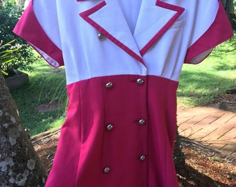 Vintage Sailor Dress