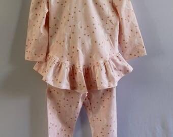 Pink Night Sky Pajamas