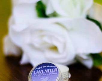All Natural Lavender Lip Balm