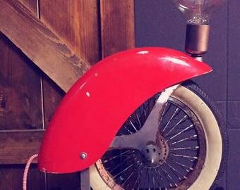 Vintage Tyre Lamp