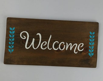 Welcome Sign / Wood Sign / Door Sign