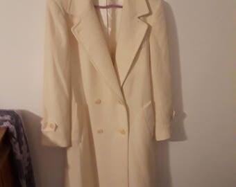 Winter White Women's Coat