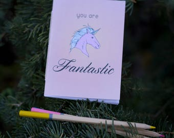 You Are Fantastic A6 Pocket Notebook