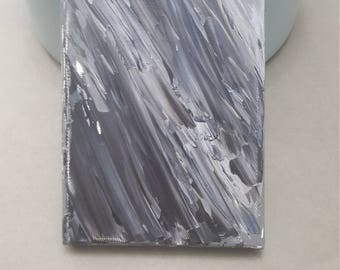Grayscale Acrylic Pallette Knife Painting - Canvas
