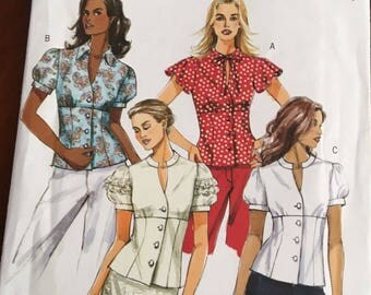 Butterick B 4985 EASY Blouse , Size 6,8,10,12