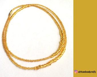 Opulent Gold - Waist Beads - Belly Chain - Belly Beads - African Waist Beads