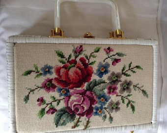 Tapestry Handbag Briefcase