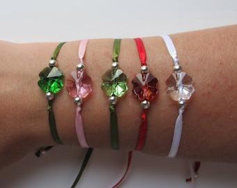 Swarovski Clover Bracelet - Several colors